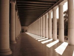 Стоя Аттала, Древняя Агора, Афины, Греция