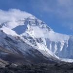 Гора Эверест из базового лагеря
