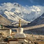 Гора Эверест, Базовый лагерь и Ронгбук