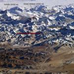 Высочайшие вершины рядом с Эверестом