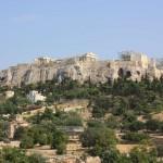 Вид на Акрополь с Агоры