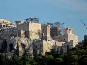 Акрополя, Пропилеи