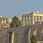 Парфенон в Афинах (Аттика, Греция)