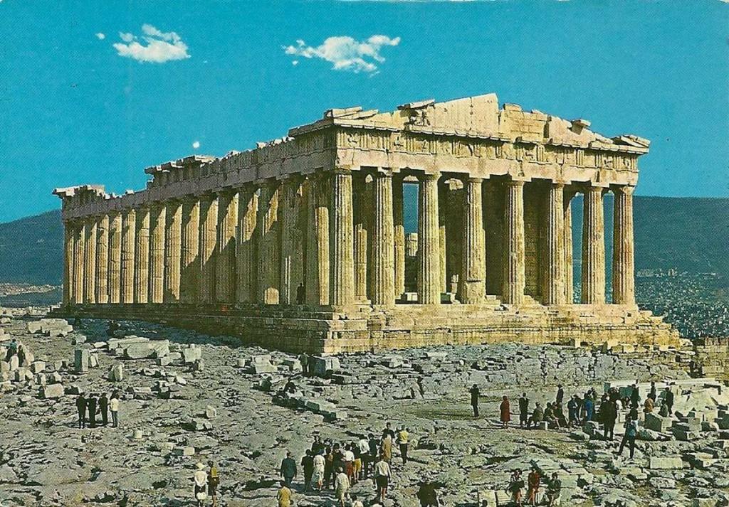 Древнегреческий архитектор один из создателей парфенона