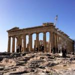 Парфенон в Акрополе, Афины, Греция