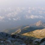 Вид с горы Афон