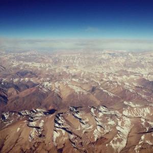 Вид на горы Кордильеры