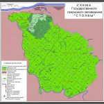 """Карта заповедника """"Столбы"""" в Красноярске"""