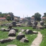 Руины храма в Тегее