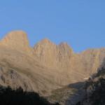 Высочайший пик горы Олимп - 2917 м.