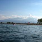 Вид на гору Олимп в Греции