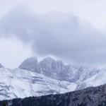Гора Олимп зимой, Греция