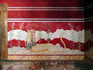 Фреска Кносского дворца