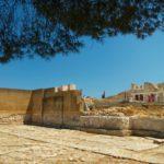 Вид на Лабиринт Минотавра, Крит