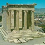 Храм Ники Аптерос, Акрополь