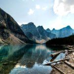 Ледниковое озеро Морейн в Канаде