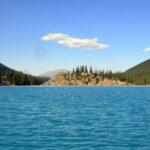 Лазурная гладь озера Морейн