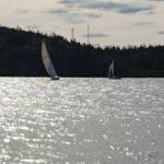 Лодки на Большом Невольничьем озере