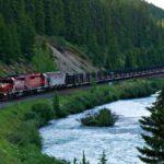 Железная дорога в национальном парке Банф