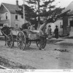 Вид улицы в начале XX века