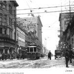 Вид улицы в начале XIX века