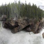 Нижний водопад Саунапта