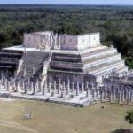 Храм Воинов в Чичен-Ица с высоты птичьего полета