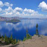 Озеро Крейтер глубочайшее в США, штат Оригона