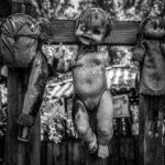 Устрашающие виды острова заброшенных кукол