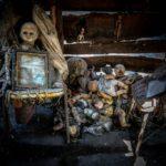 Куклы в домике
