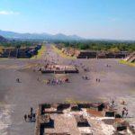 Руины древнего города в Мексике