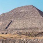 Пирамида Солнца из юго-восточного угла