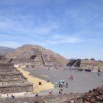 Мексиканские пирамиды в Теотиуакане