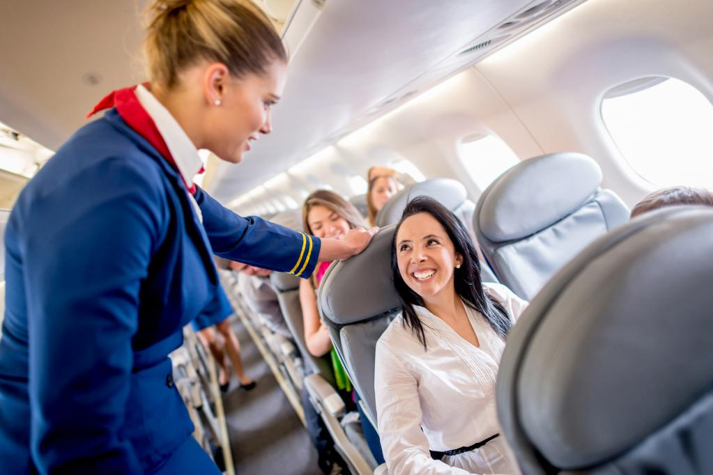 места в самолете удобные