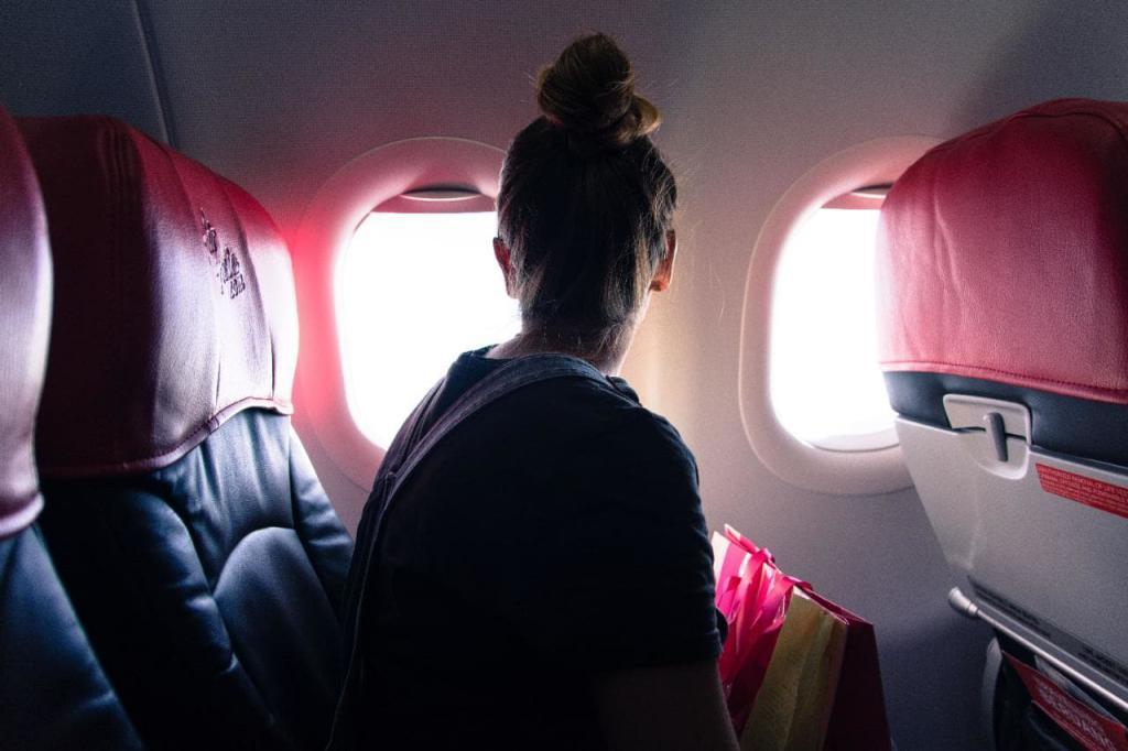 места в самолете у окна