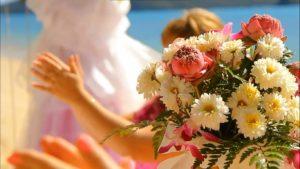 Свадебный букет из свадебного путешествия